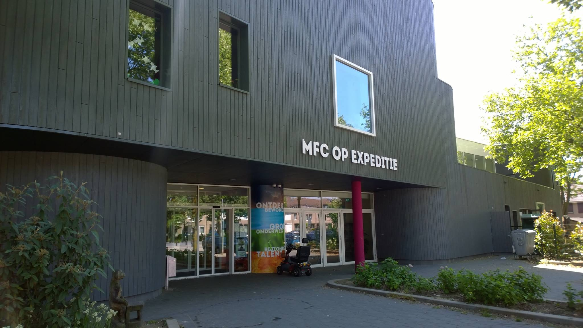 Op bezoek bij MFC Op Expeditie in de Vossener